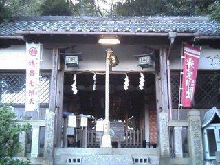 氷室神社正面の写真