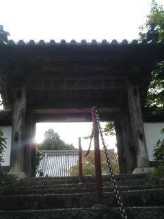 海住山寺の山門