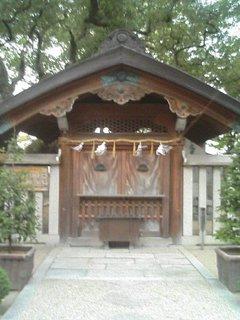 楠木正行の墓所正面の写真